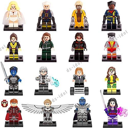 16Pcs MiniFigures Super Heroes Blocks Toys