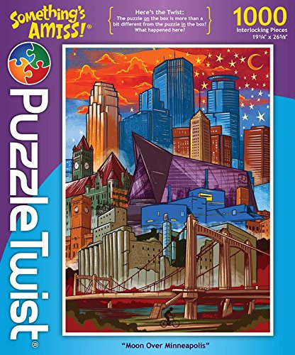 Moon Over Minneapolis Something's Amiss Puzzle - 1000 pcs.