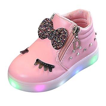 Fuxitoggo Zapatillas de Deporte para niños pequeños de 1 a 6 años, niños Bebés de