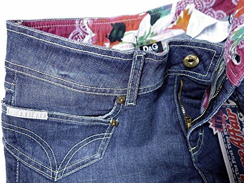 aspecto Dolce Corto Jeans amp; Shorts Destroyed Dezente 28 Denim 26 Short Waschung pantalón Envejecido Gabbana Mujer W 27 D Bermuda 25 Talla Vintage Pants G 29 30 YYarx