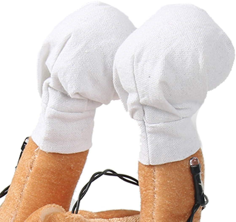 Dimensioni Adulto Benradise Cappello da Tacchino LED Turchia per Decorazioni per Accessori per Feste di Natale