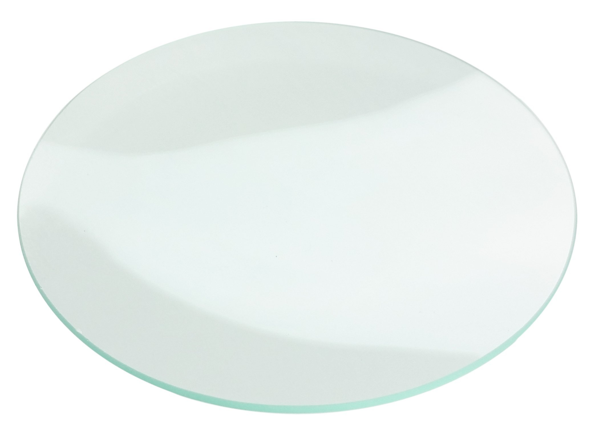 GSC International 000-109-CS Watch Glass with Fire-Polished Edges, 90mm Diameter (Case of 100)