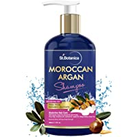 StBotanica Moroccan Argan Hair Shampoo With Organic Argan Oil (No Sulphate & Paraben), 300ml
