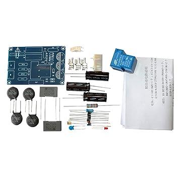 Q-BAIHE Amplificador de potencia Soft Start Board Kit Amplificador de Clase A HIFI Fever