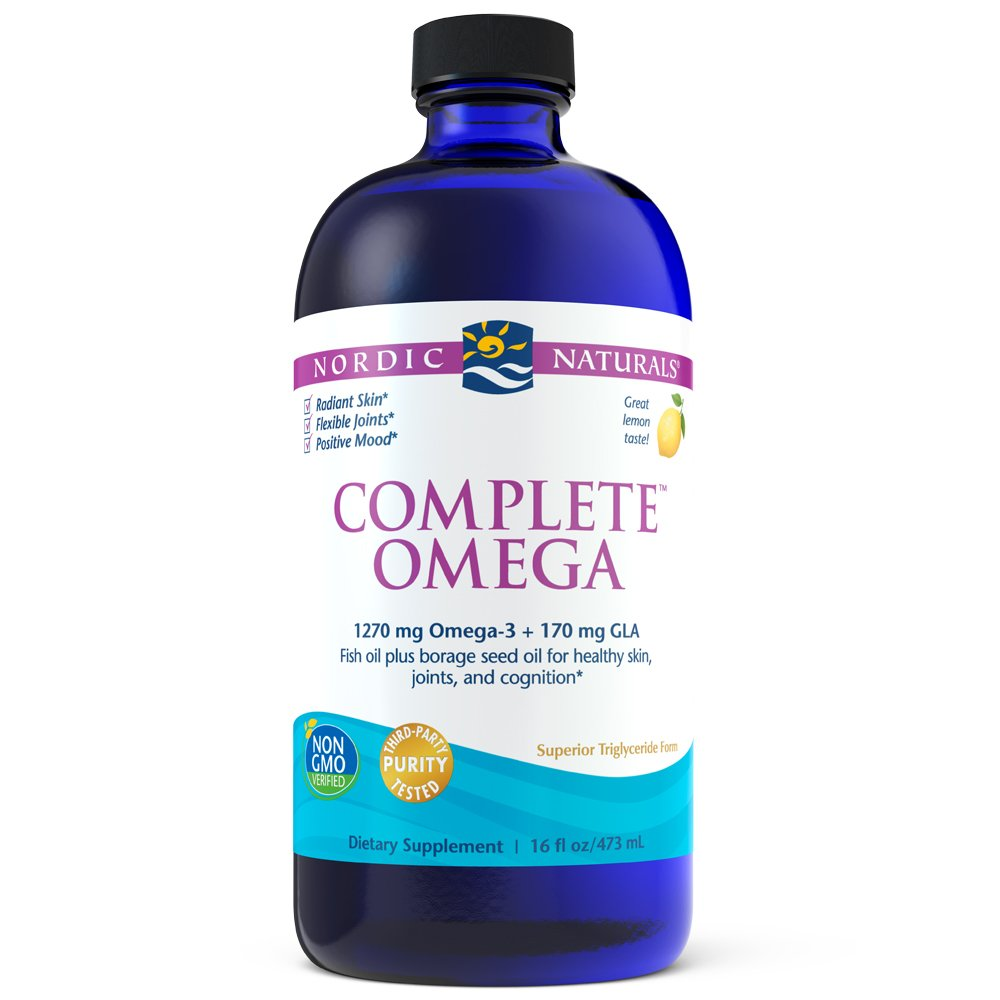 Nordic Naturals - Complete Omega, Supports Healthy Skin, Joints, and Cognition, 16 Ounces