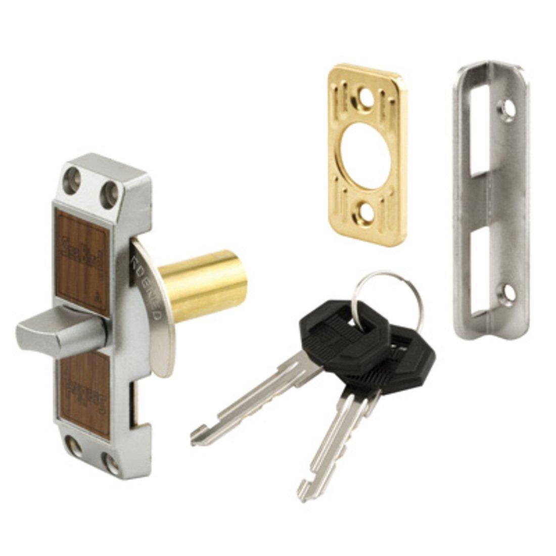 CRL Aluminum Keyed Deadbolt Loop Lock S4060