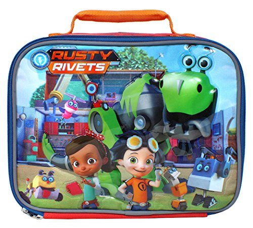 Nickelodeon Rusty Rivets Rusty, Ruby and Botasaur Insulated Lunch Box'