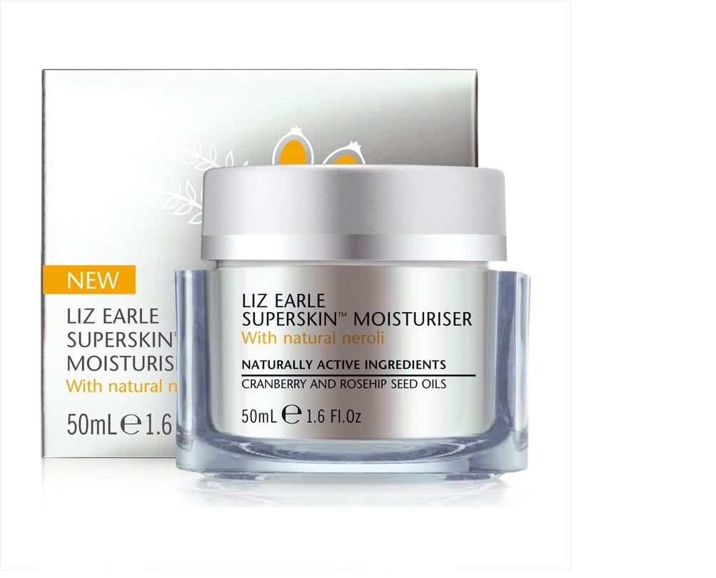 Liz Earle Superskin Moisturiser With Natural Neroli for Dry Mature Skin 50ml Just Out!
