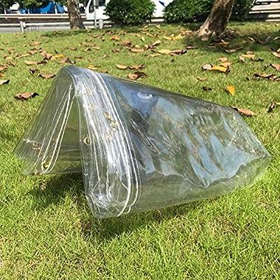 Lona Jardín De Plantas Lonas Transparente A Prueba De Agua Canopy - Grueso Claro Ojales, Fuera La Cubierta De Tierra Hoja/Camping/Balcón (Size : 1.1x4m): Amazon.es: Hogar