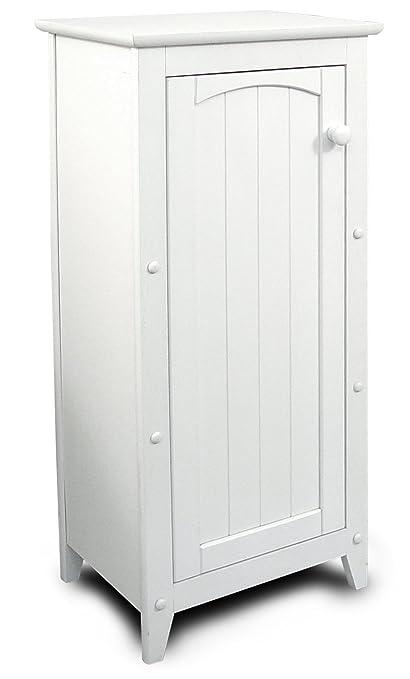 Amazon.com - Catskill Craftsmen Single Door Kitchen Cabinet, White ...