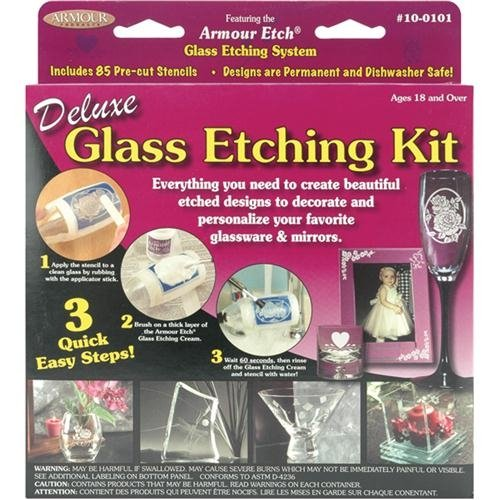 Armour Deluxe Glass Etching Kit glass etching kit by Armour