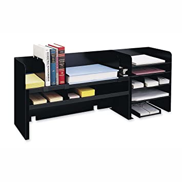 Amazon Com Mmf Raised Shelf Design Desk Organizer