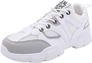 HCFKJ Scarpe Sportive Sneaker Cintura da Uomo alla Moda con Scarpe Casual di Colore Misto Scarpe Casual da Ginnastica
