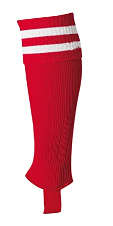 Uhlsport Senior - Calcetines de fútbol para hombre, color rojo/blanco: Amazon.es: Deportes y aire libre