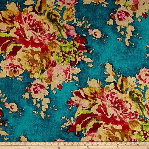 Covington Fabrics & Design Covington Venus Basketweave Fabric, Caribbean