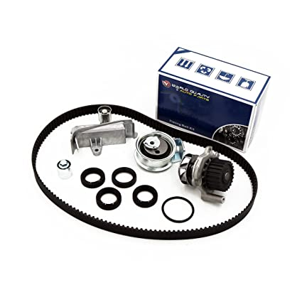 Amazon.com: Timing Belt Kit Water Pump w/Tensioner Fits 01-06 Volkswagen Passat Audi A4 1.8L TURBO DOHC: Automotive
