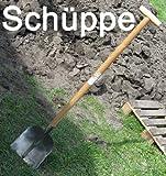 Schaufel massiv mit Holzstiel, T-Griff, Garten Gärtner Schüppe Schaufel Schippe (LHS)