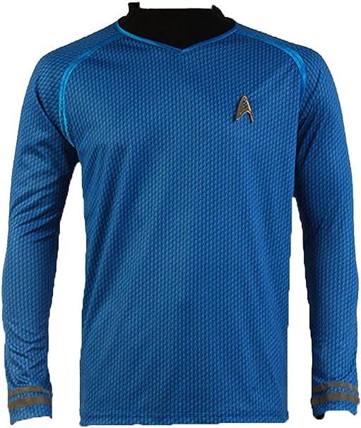 Daiendi Star Trek Into Darkness Spock camiseta uniforme disfraz ...