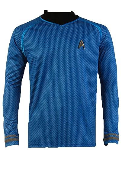 Camiseta para disfraz, diseño de uniforme de Spock en la película ...