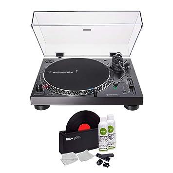 Audio-Technica AT-LP120XUSB - Tocadiscos USB (Negro) con Knox Gear ...