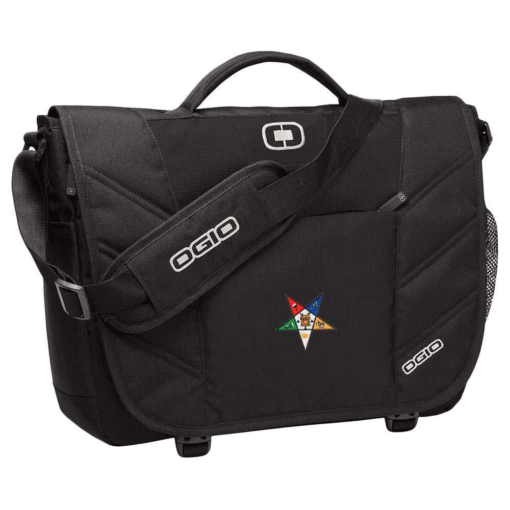 OES Order Of Eastern Star Ogio Upton Messenger Bag Black