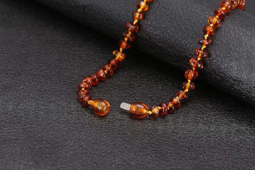nave de los Estados Unidos y el Reino Unido y del AU y CN La dentici/ón B/áltico collar de /ámbar//pulsera de 14-35cm Tama/ño 4 colores Caja de regalo