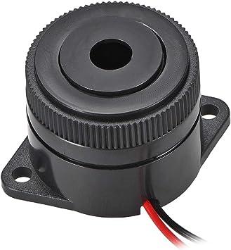 2 Pcs DC 12V Active Electronic Buzzer Alarm Beeper Intermittent sound 90dB