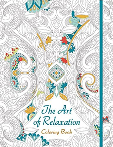 The Art Of Relaxation Coloring Book Lark Crafts 9781454709411 Amazon Books