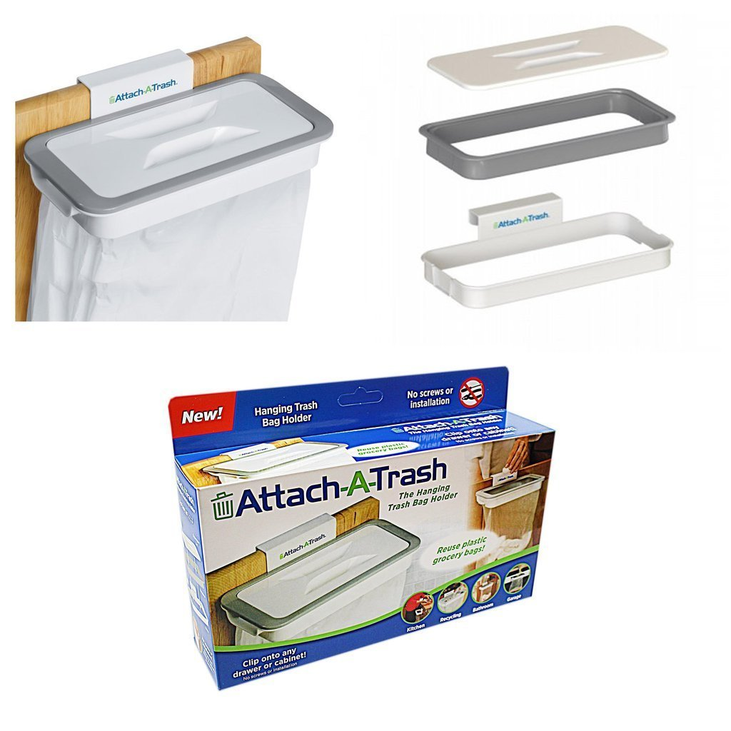 Attaccare un gancio del sacchetto cucina Trash stand Storage Garbage bag Holder Hanging Trash Bags rack Other