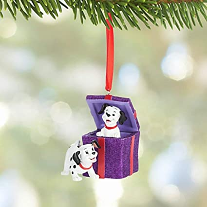Amazon.com: Disney 101 Dalmatians Figural Holiday Christmas Ornament ...