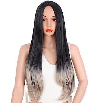 Mittellange braune haare