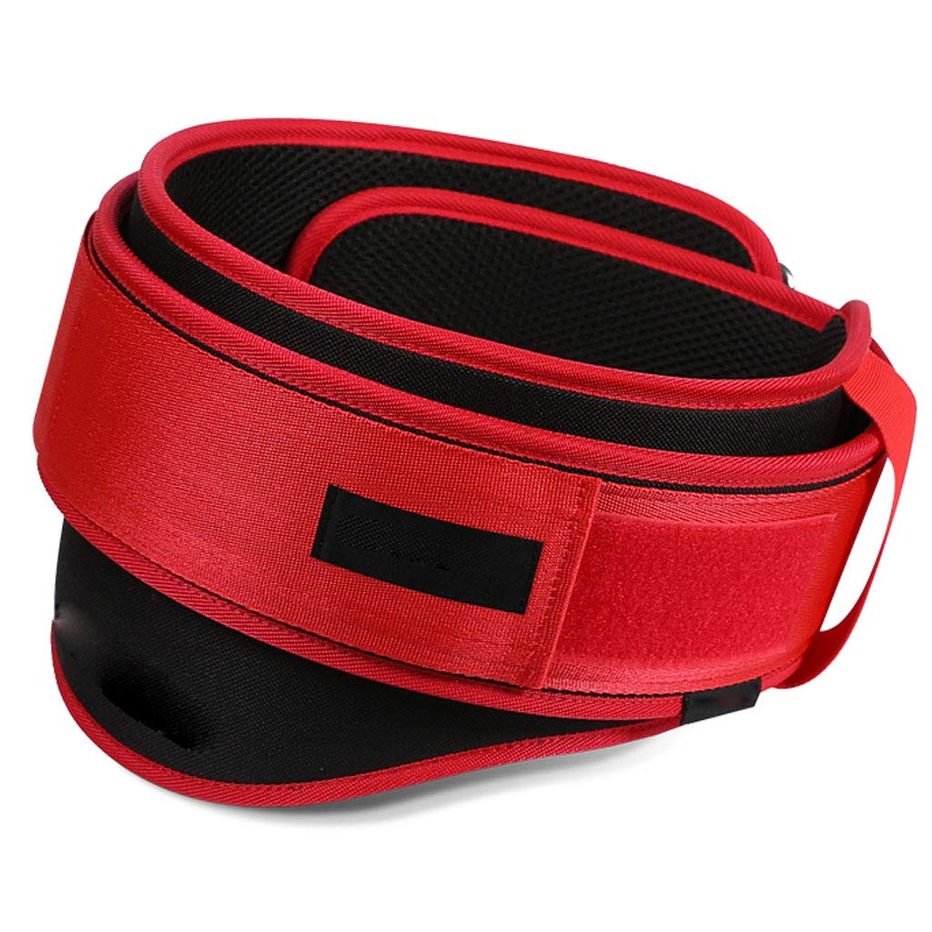 Squat Fitness Protection Belt, Lumbar Supports Breathable Fabric Widening with Thickened Gasket for Exercise Unisex DONGBALA