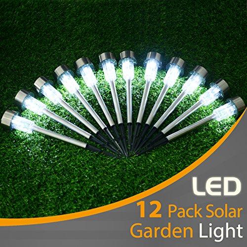 12 Led Solar Garden Lights in US - 8