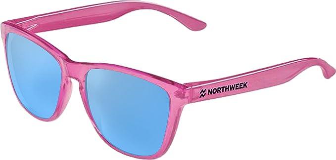 Gafas de sol Northweek   Bright pink   lente azul Ice Blue polarizada