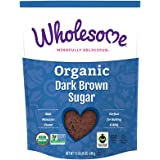 Wholesome Sweeteners Organic Dark Brown Sugar, 24 Ounce, 6-Pack
