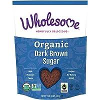 Wholesome 红糖,公平贸易,1.5 磅(约 680.4 克)(6 包装)