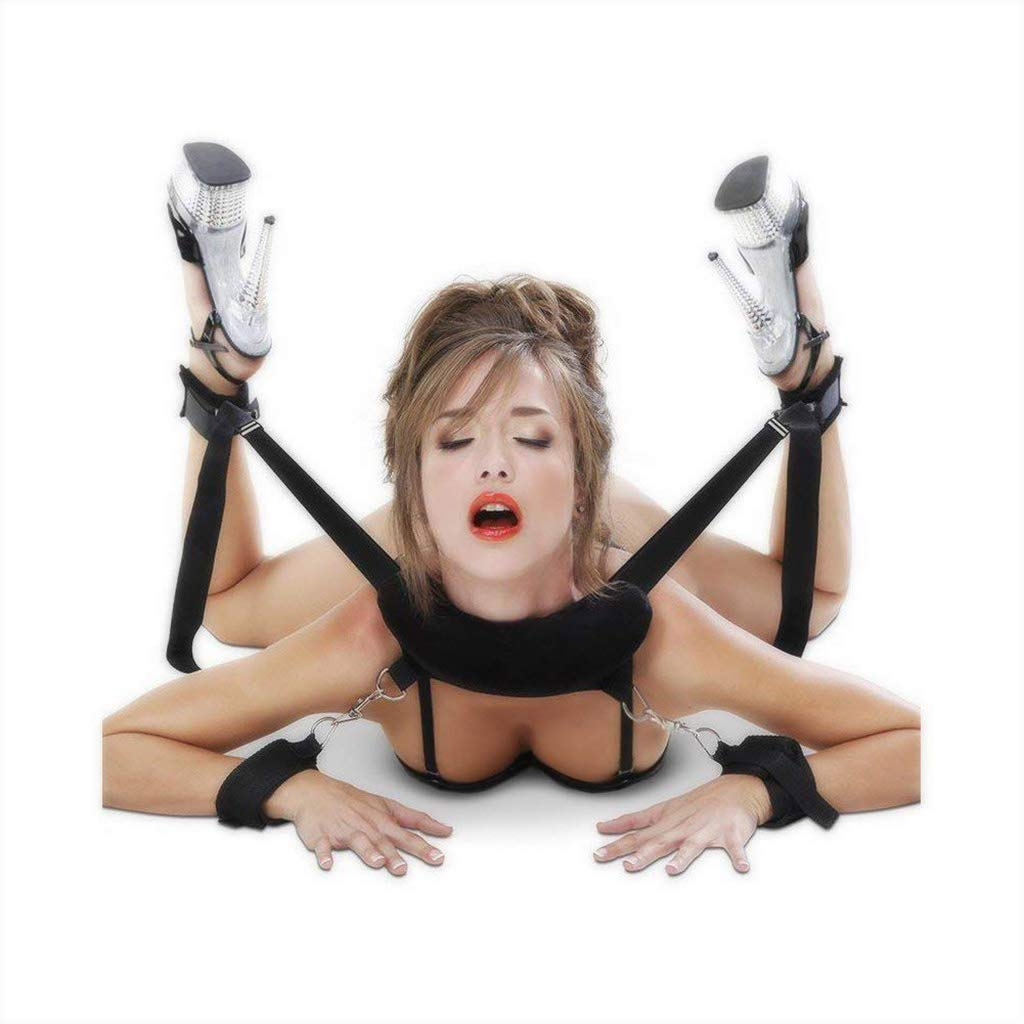 Restraints Kit Wrist Thigh Leg Restraint System Hand & Ankle Cuff Bed Restraints Sex Bondage Position Support Sling