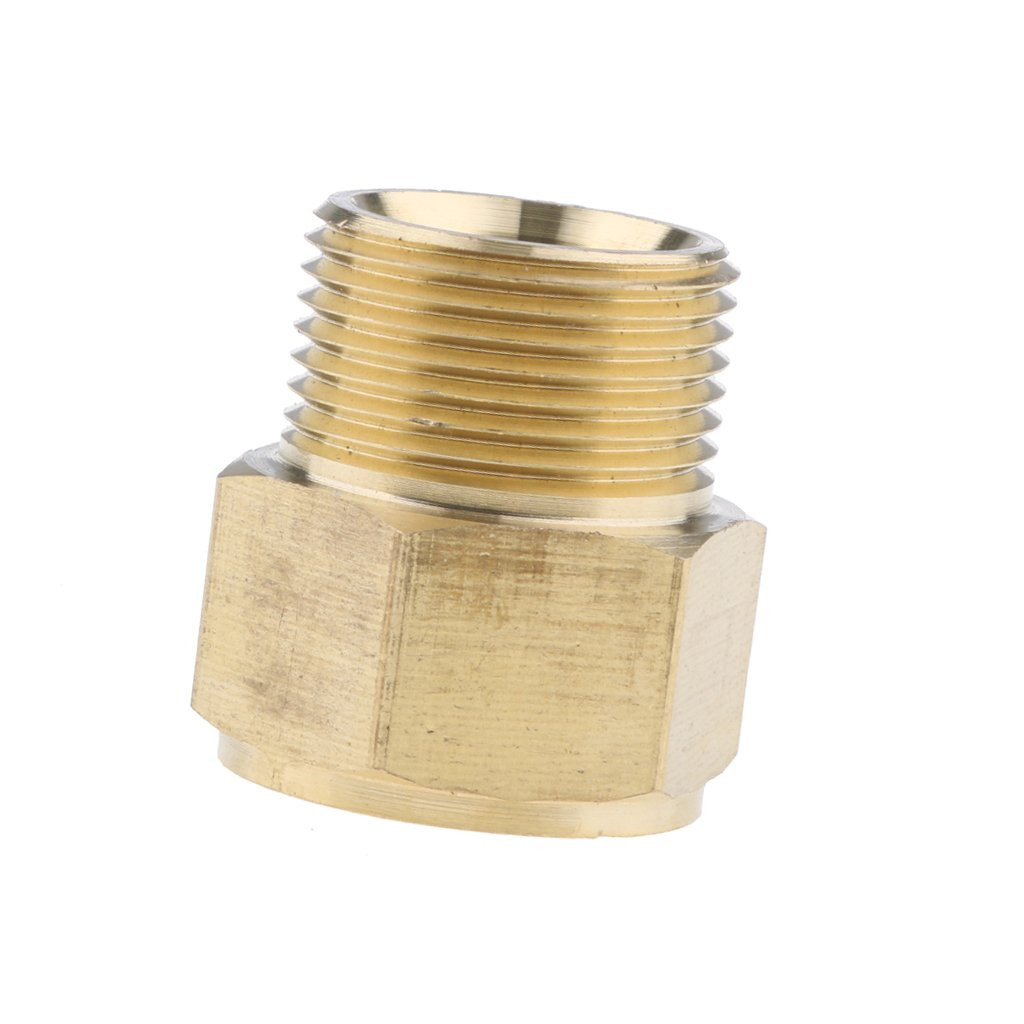Pressure Washer Washing 22mm Female to 22mm Male Brass Connector Adaptor