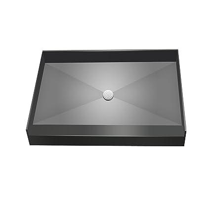 Genial Tile Redi USA 3460C PVC Base Shower Pan, Black, 34u0026quot; X 60u0026quot