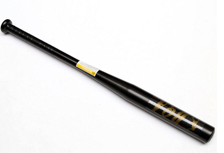 Bate de béisbol Haoyishang de 63,5cm, aleación de aluminio, deportes al aire libre , negro