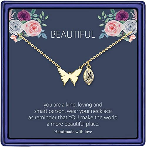 Gifts Teen Girls Necklace Pendant Jewelry Handmade Rose Pink Gemstone Owl Tree