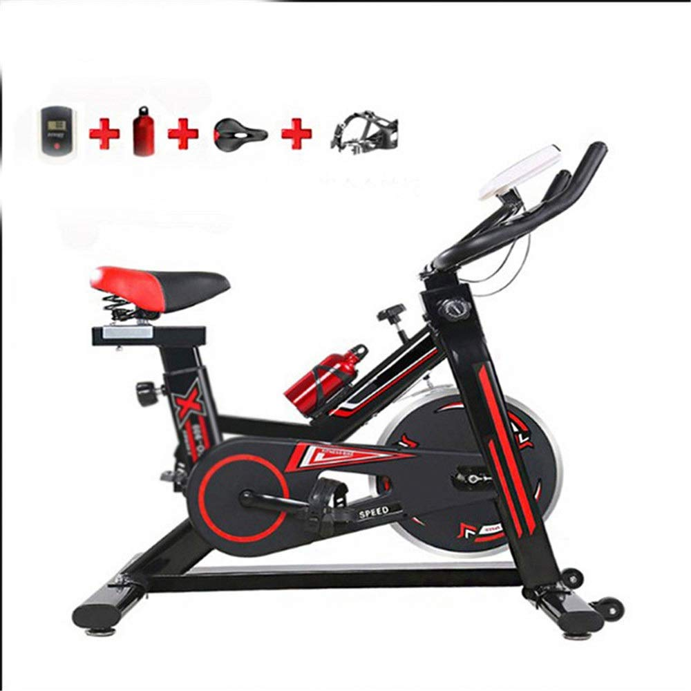 トレーニングエアロバイク 自転車文房具、トレーニングコンピュータ付きの先進的な自転車トレーナーと楕円形のクロストレーナーエクササイズバイクフィットネスカーディオ減量ワークアウトマシン   B07Q2LWGMH