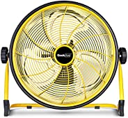 Geek Aire Fan, Battery Operated Floor Fan, 15600mAh Rechargeable Powered High Velocity Portable Fan, Air Circu