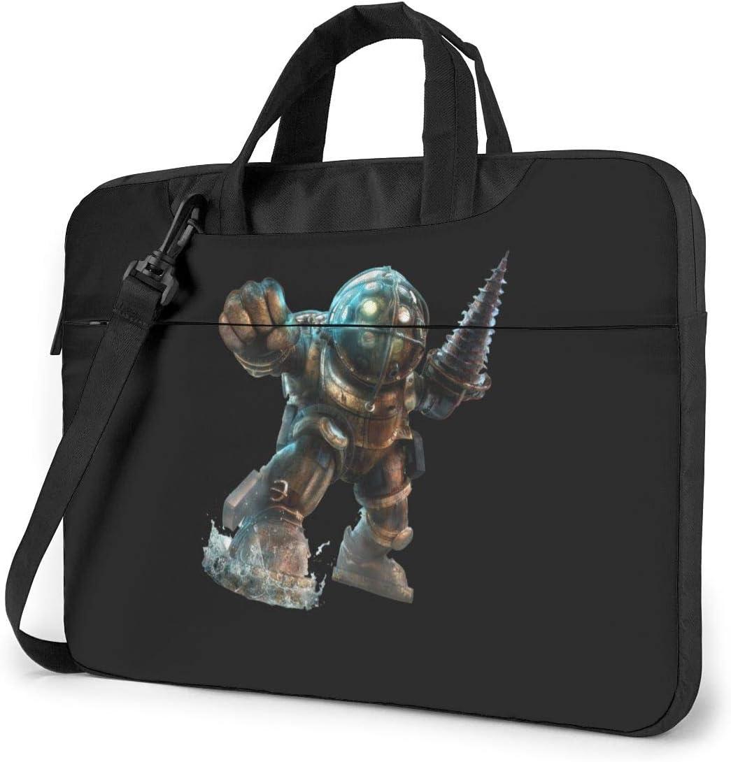 JuaoHuan Bioshock Laptop Shoulder Messenger Bag Case Briefcase Sleeve for 13 Inch 14 Inch 15.6 Inch Laptop Case 13 Inch