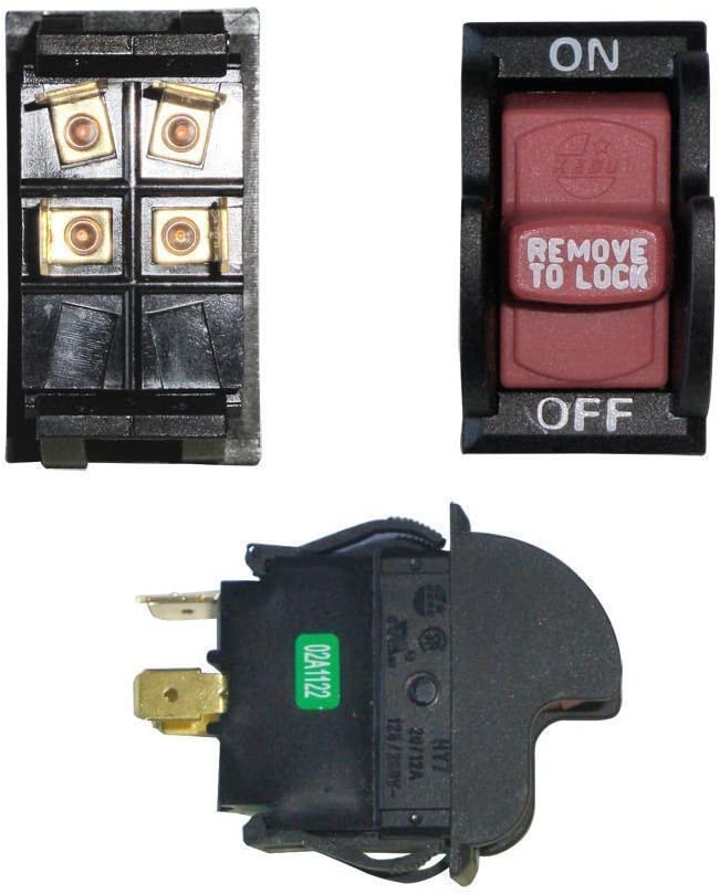 Optional Lock Superior Electric SW7A On-Off Toggle Switch # SW7A ...