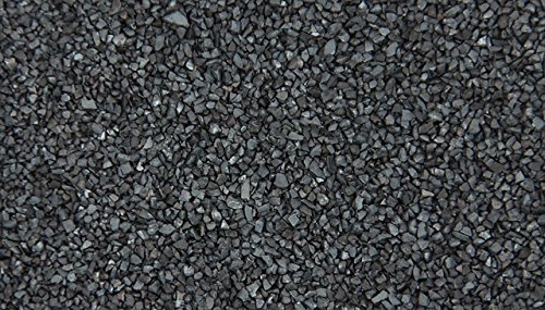 Cast Steel Grit Blasting Media, G-40 Grit Size, Medium Fine Grit (5 LBS)