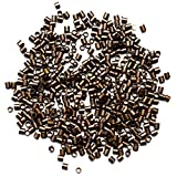 Cousin Jewelry Basics 2mm Crimp Tube/Bead, Copper, 500 Piece