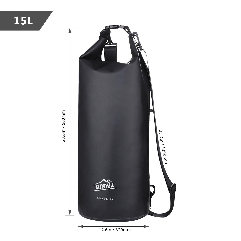 832c19c0c1a1 Amazon.com   HiHiLL Waterproof Dry Bag