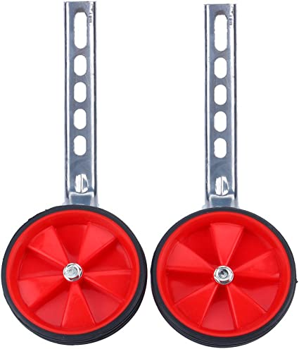 VGEBY1 Kids Cycle Stabilizers 2Pcs 12-20 Inch Stable Heavy-Duty Bicycle Training Wheels