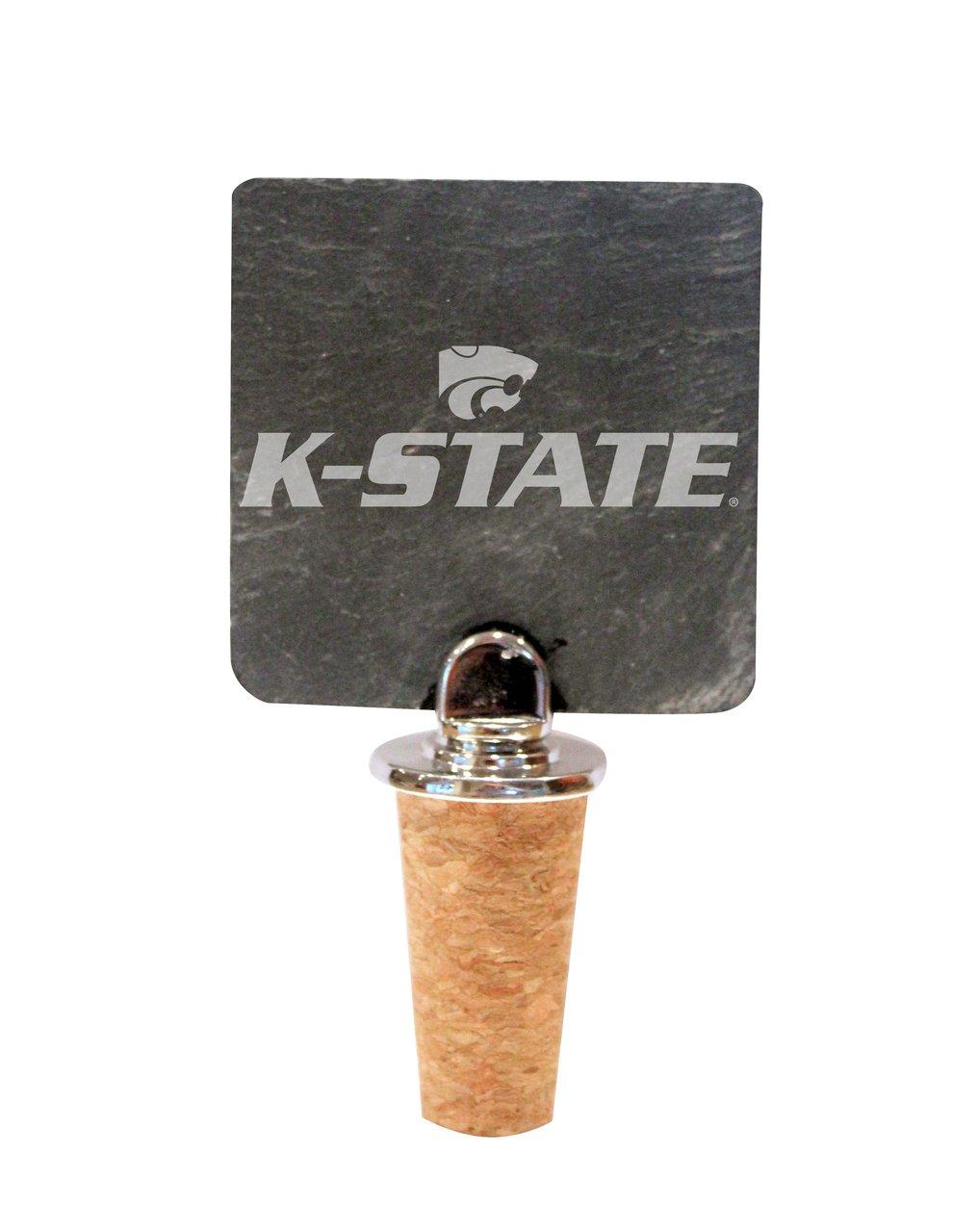Kansas State Slate Bottle Stopper
